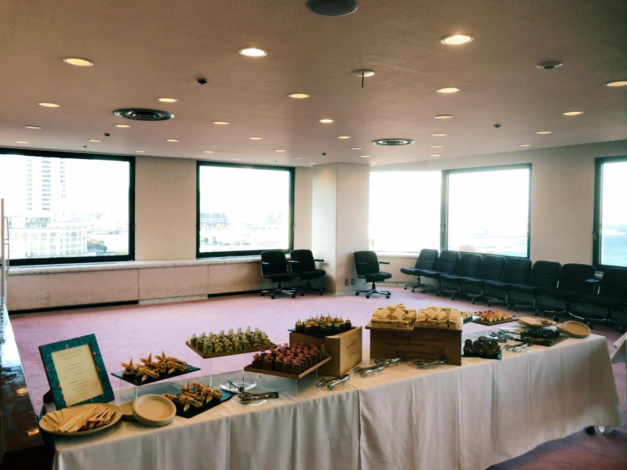 産業貿易センタービル横浜シンポジアケータリング